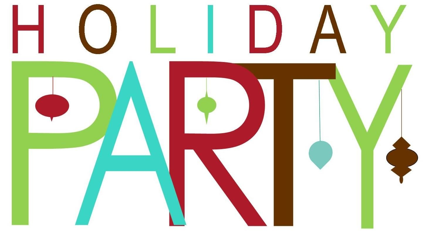 holiday party clip art borders 2